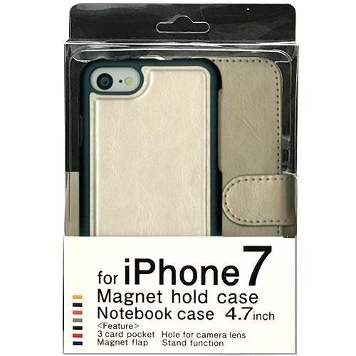 a69b9e9ab1 for iPhone7/4.7inch/NoteBook type/定期やICカードを収納できるiPhone7用ケースです。 3枚のカードが収納 できます。ホールドケースはマグネット付きで、取り外しが ...